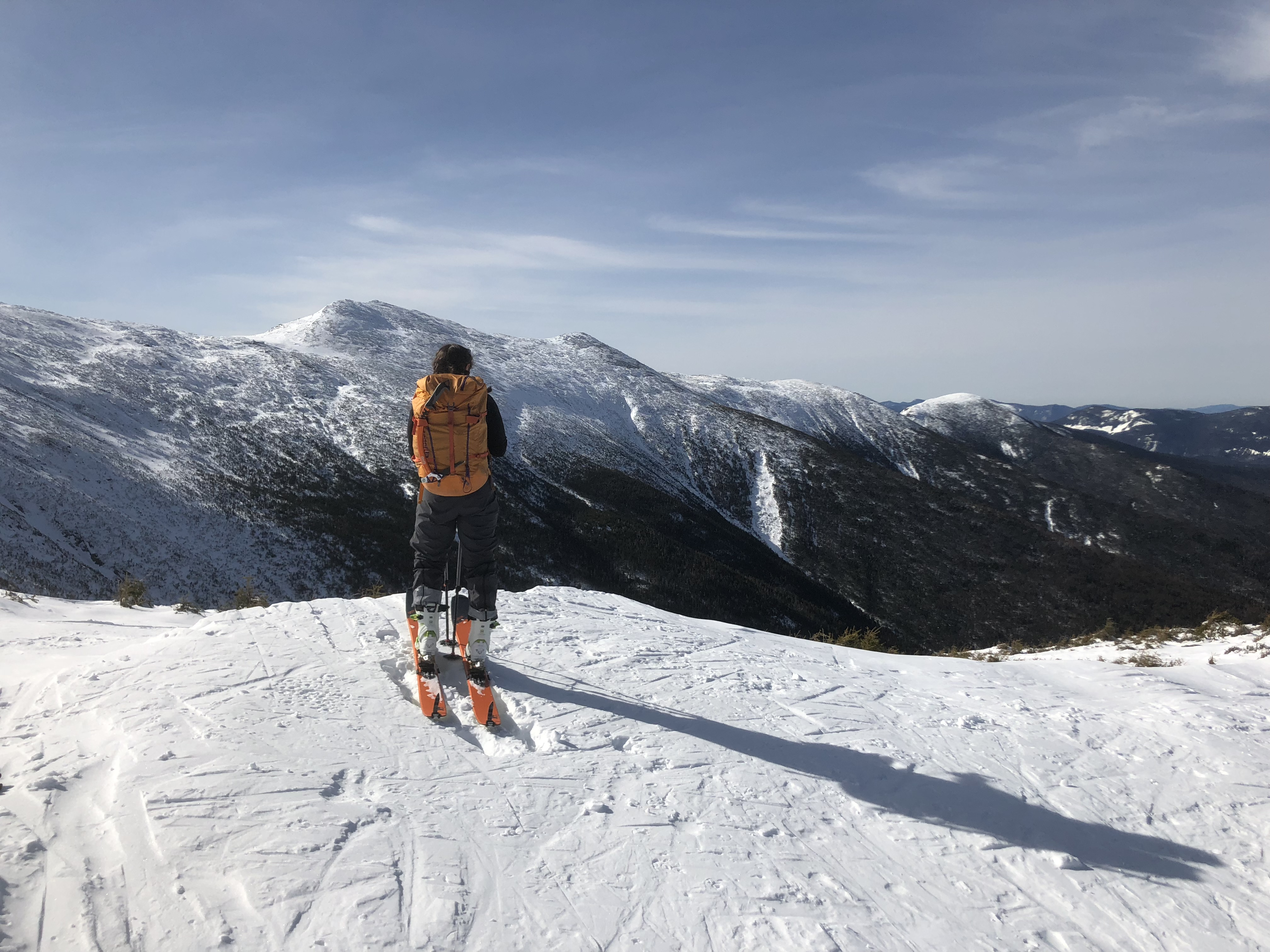 Backcountry Skiing Mount Washington