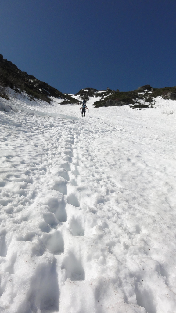 Skiing Tuckerman Ravine