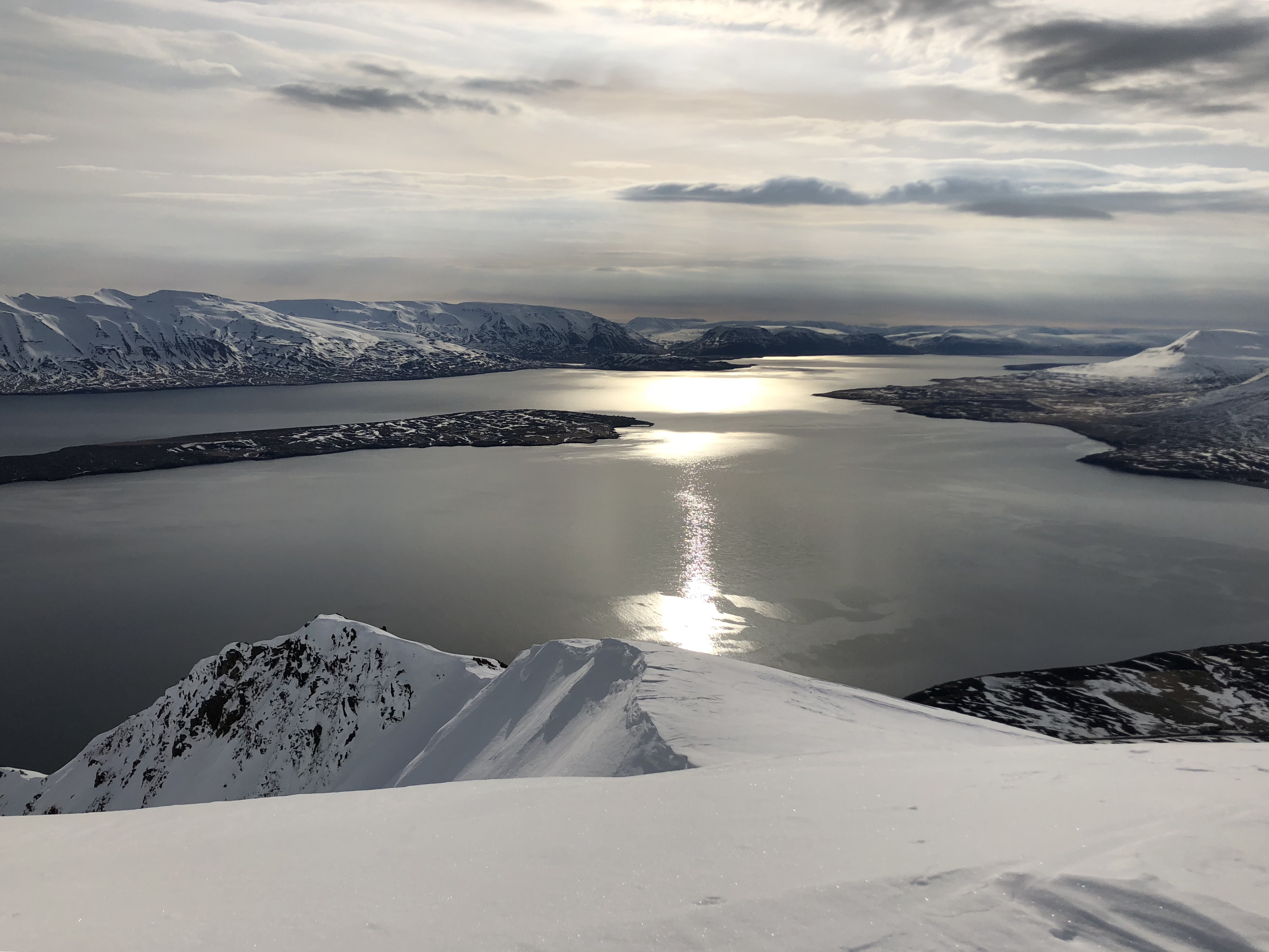 Backcountry Skiing in Iceland