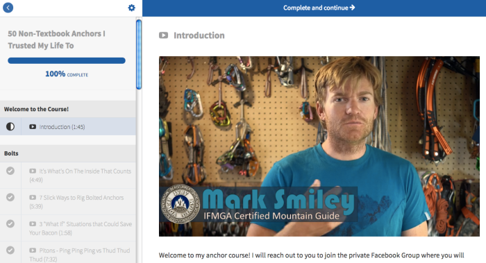 Mark Smiley 50 Anchors Online Course Review
