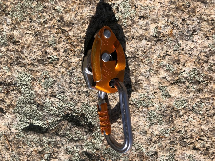 Petzl OK Triact with Petzl GriGri2
