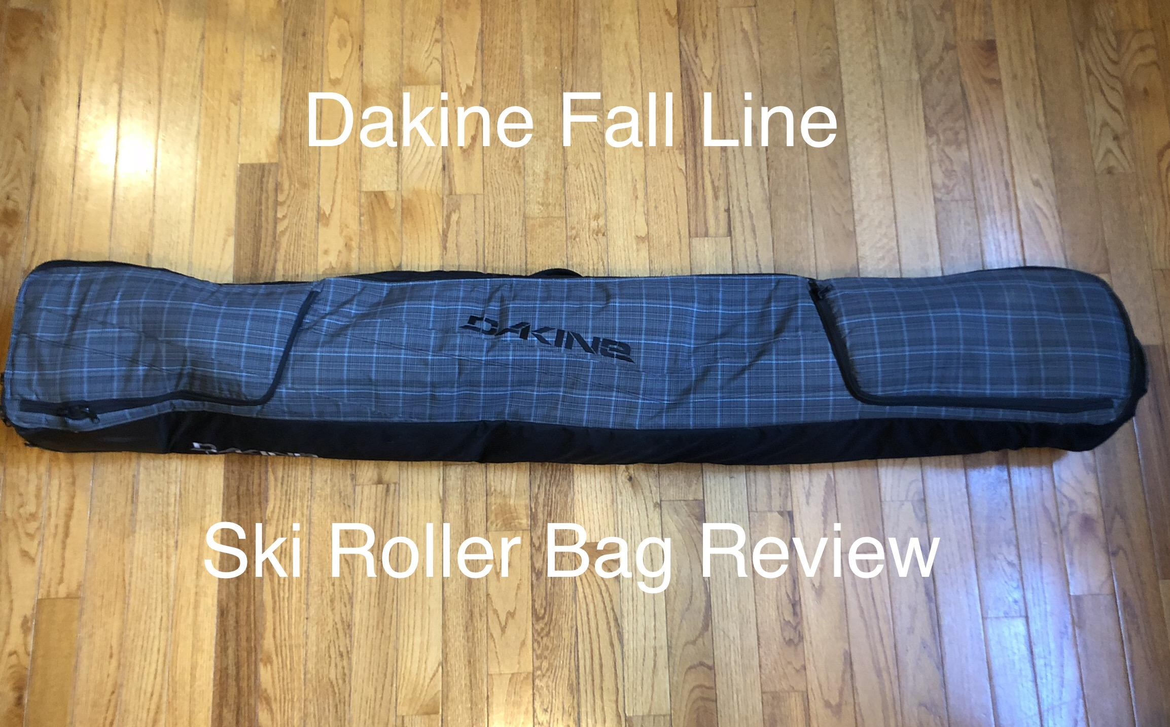 Dakine Fall Line Ski Roller Bag Review