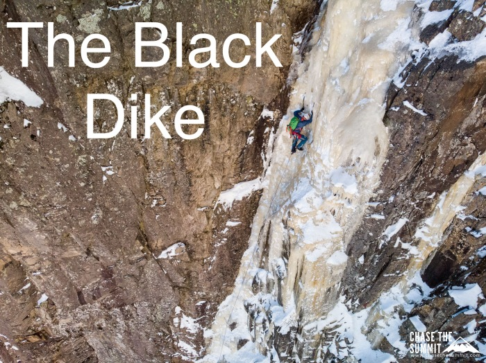 Ice Climbing the Black Dike
