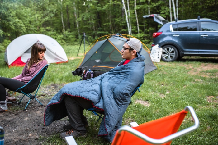 Montem Sneaky Snuggler Puffy Camping Blanket Review