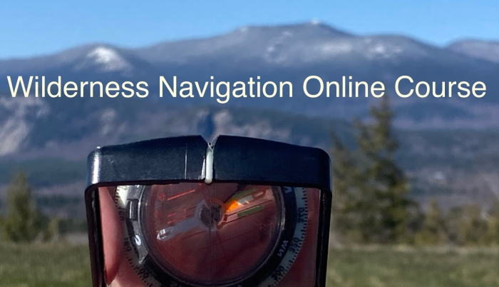 Wilderness Navigation Online Course Map and Compass