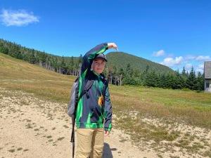 Hiking Tecumseh 4000 footers NH