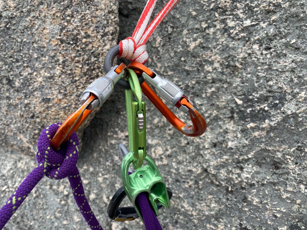 Girth Hitch Master Point Anchor System